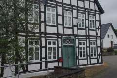 Nice houses in Germany city of Lemgo