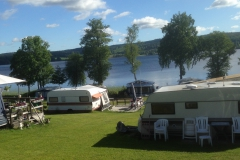 View from aour caravan