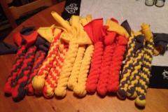 Toys I made myself for Alpha