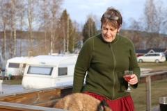 Me at our carvan in mars